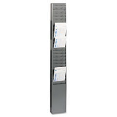 MMF270R1TCRGY - STEELMASTER® by MMF Industries™ Time Card Rack