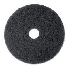 MMM08375 - 3M Black Stripper Floor Pads 7200