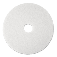 MMM08477 - 3M™ White Super Polish Floor Pads 4100