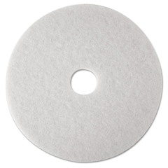MMM08480 - 3M™ White Super Polish Floor Pads 4100