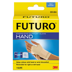 MMM09183EN - Energizing Support Glove, Medium, Palm Size 7 1/2 - 8 1/2, Tan