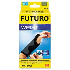 MMM10770EN - 3M Futuro Adjustable Reversible Splint Wrist Brace, Fits Wrists 5.5-8.5