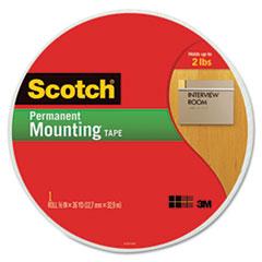 MMM110MR - Scotch® Permanent High-Density Foam Mounting Tape
