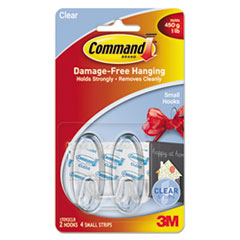 MMM17092CLR - Command™ Clear Hooks and Strips