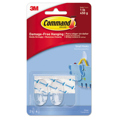 MMM17092CLRES - Command™ Clear Hooks and Strips