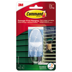 MMM17093CLRAWES - Command™ All Weather Hooks and Strips