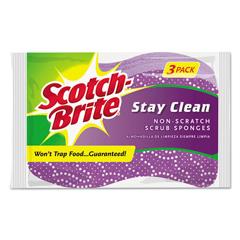 MMM202038 - Scotch-Brite™ Stay Clean Non-Scratch Scrub Sponge