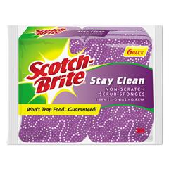 MMM202066 - Scotch-Brite™ Stay Clean Non-Scratch Scrub Sponge