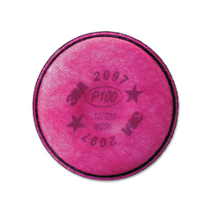 MMM2097 - 3M™ Particulate Filter for Nuisance Level Organic Vapor Relief