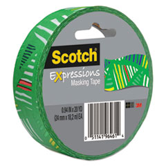 MMM3437P4 - Scotch® Expressions Masking Tape