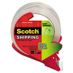 MMM3450SRD - Scotch® Sure Start Packaging Tape w/Dispenser