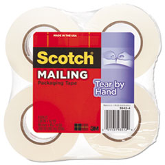 MMM38424 - Scotch® Tear-By-Hand Packaging Tapes