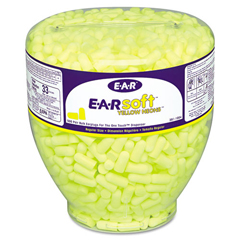 MMM3911004 - 3M™ EARsoft™ Yellow Neon™ Earplug Refill for One Touch™ Dispensers
