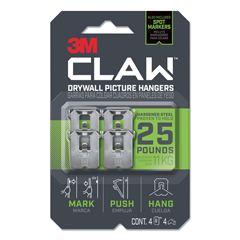 MMM3PH25M4ES - 3M™ Claw Drywall Picture Hanger