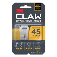 MMM3PH45M3ES - 3M™ Claw Drywall Picture Hanger