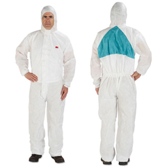MMM4520BLKL - 3M Disposable Protective Coveralls