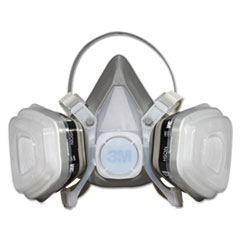 MMM52P71 - 3M Dual Cartridge Respirator Assembly