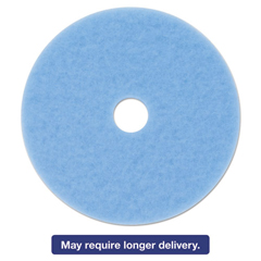 MMM59824 - 3M Sky Blue Hi-Performance Burnish Pad 3050