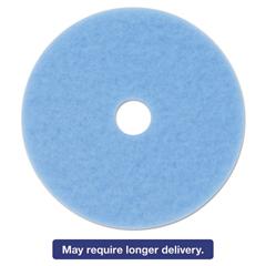 MMM59826 - 3M Sky Blue Hi-Performance Burnish Pad 3050