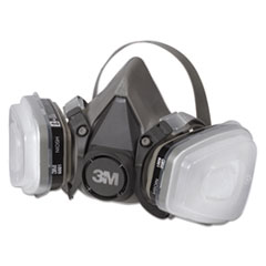 MMM6111PA1A - 3M Half Facepiece Paint Spray/Pesticide Respirator