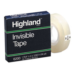 MMM6200121296 - Highland™ Invisible Permanent Mending Tape