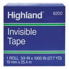 MMM620025921 - Highland™ Invisible Tape
