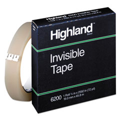 MMM6200342592 - Highland™ Invisible Permanent Mending Tape