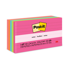MMM6355AN - Post-it® Original Pads in Capetown Colors