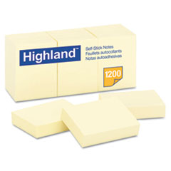 MMM6539YW - Highland™ Sticky Note Pads