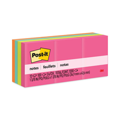 MMM653AN - Post-it® Original Pads in Capetown Colors