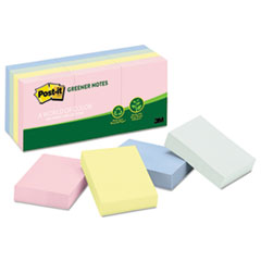 MMM653RPA - Post-it® Original Recycled Note Pads