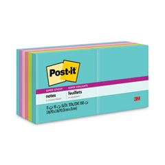 MMM65412SSMIA - Post-it® Super Sticky Pads in Miami Colors