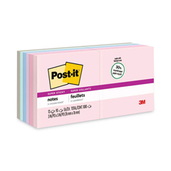 MMM65412SSNRP - Post-it® Recycled Notes in Bali Colors