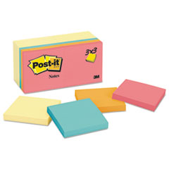 MMM65414YWM - Post-it® Notes Original Pads Assorted Value Packs