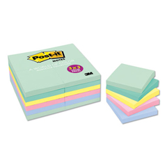 MMM65424APVAD - Post-it® Original Pads in Marseille Colors