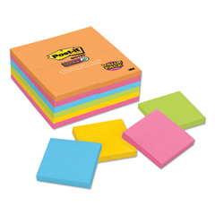 MMM65424SSAU - Post-it® Notes Super Sticky Pads in Rio de Janeiro Colors