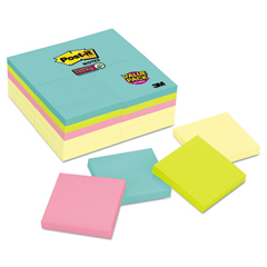 MMM65424SSCYM - Post-it® Notes Super Sticky Notes Office Pack
