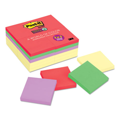 MMM65424SSCYN - Post-it® Notes Super Sticky Notes Office Pack