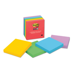 MMM6545SSAN - Post-it® Pads in Marrakesh Colors