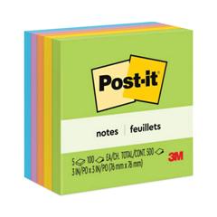 MMM6545UC - Post-it® Original Pads in Jaipur Colors