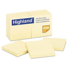 MMM6549YW - Highland™ Sticky Note Pads