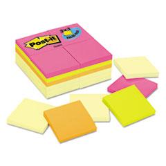 MMM654CYP24VA - Post-it® Notes Original Pads Assorted Value Packs