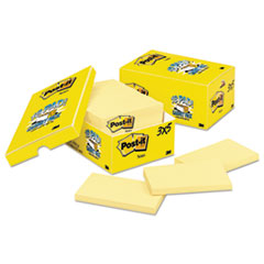 MMM65518CP - Post-it® Notes Original Pads in Canary Yellow