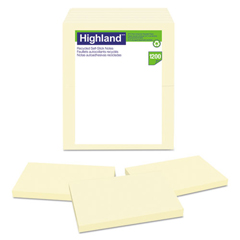 MMM6559RP - Highland™ Recycled Self-Stick Notes