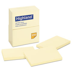 MMM6559YW - Highland™ Sticky Note Pads