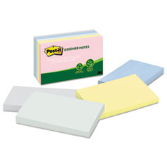 Post-It Recycled Note Pads