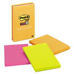 MMM6603SSUC - Post-it® Pads in Rio de Janeiro Colors