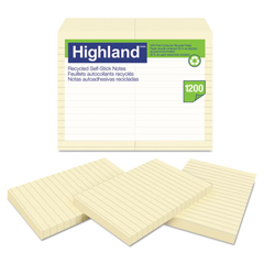 MMM6609RP - Highland™ Recycled Self-Stick Notes