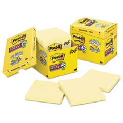 MMM67512SSCP - Post-it® Notes Super Sticky Pads in Canary Yellow