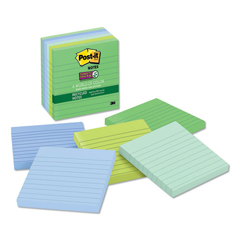 MMM6756SST - Post-it® Recycled Notes in Bora Bora Colors